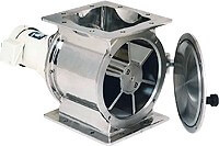 Single Touch Side Bearing Opening Rotary Valve